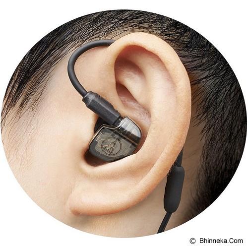 AUDIO-TECHNICA Balaned Armature In Ear Monitor Headphones [ATH-IM01] - Black - Earphone Ear Monitor / Iem